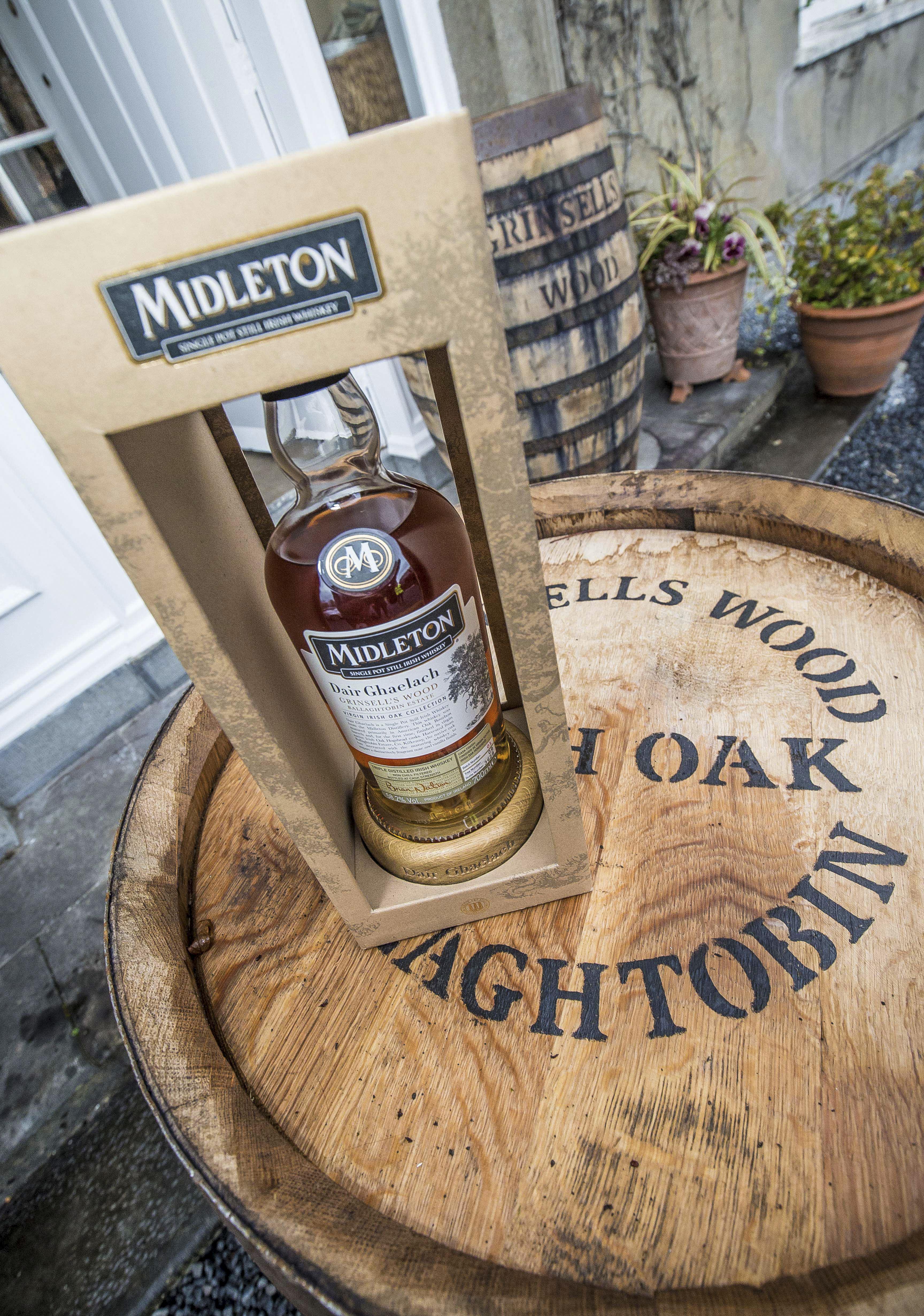 Une offre de whiskey irlandais enrichie