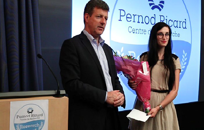 Le Centre de Recherche Pernod Ricard a son Prix