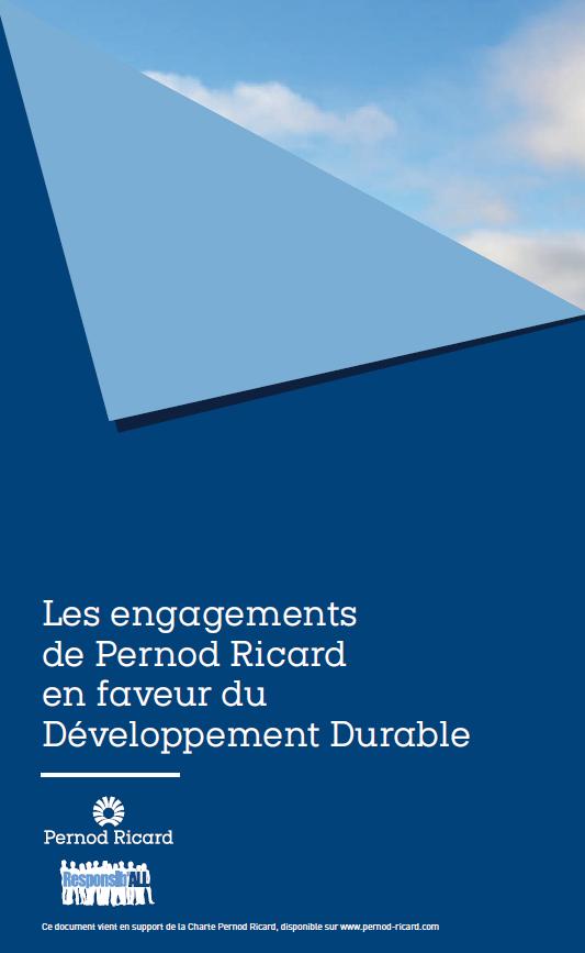 Les engagements de Pernod RIcard