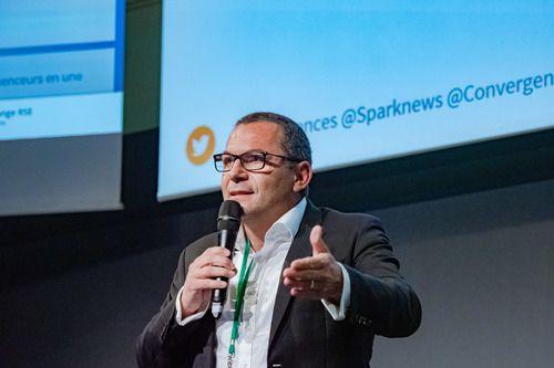 Bruno Goimier (Directeur de la communication) au forum Convergencses