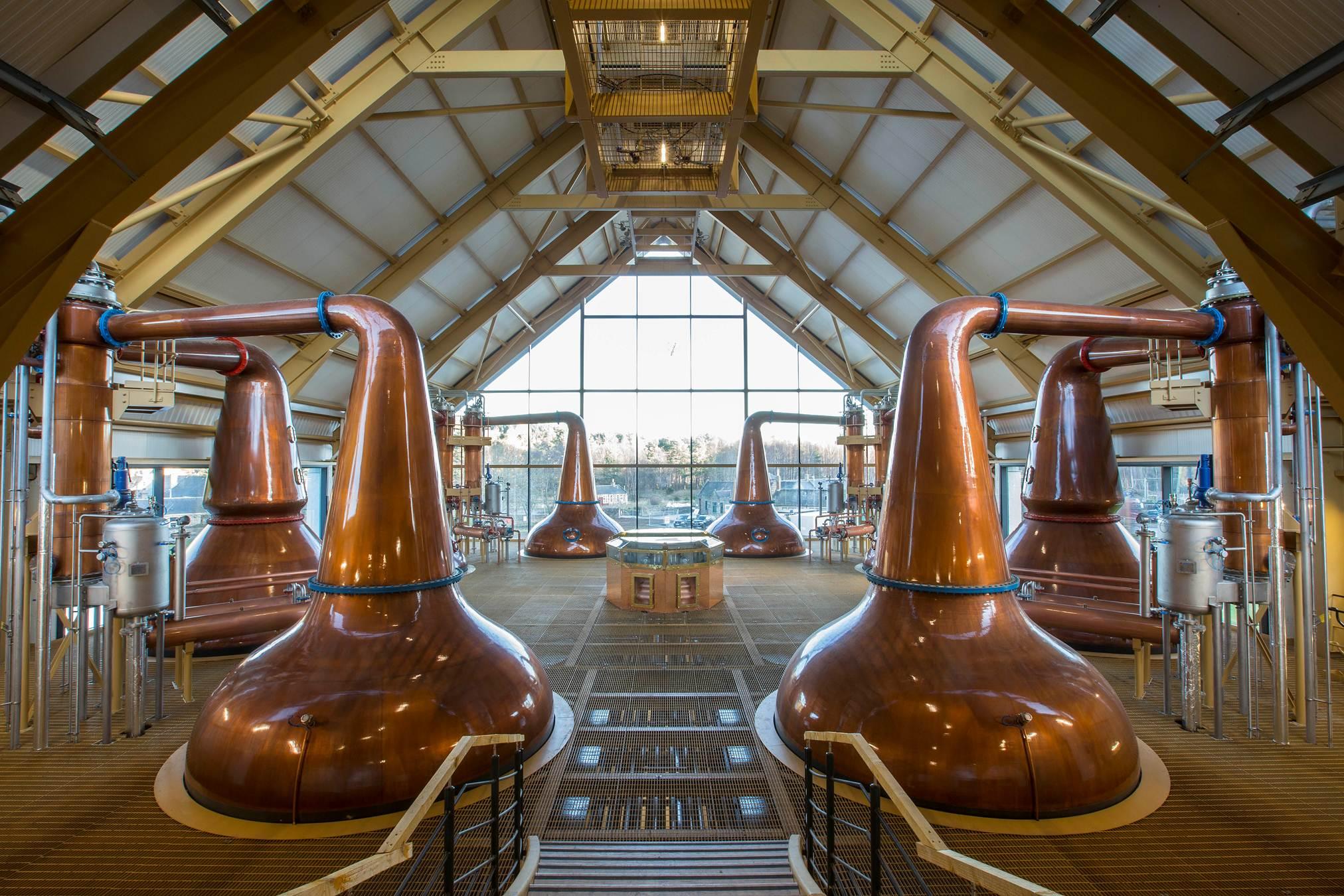Chivas Brothers : la nouvelle distillerie de whisky de malt à Speyside