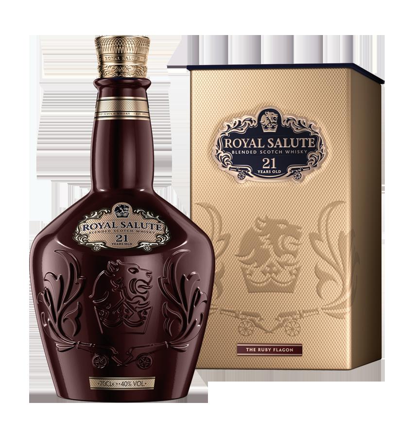 royal salute bottle