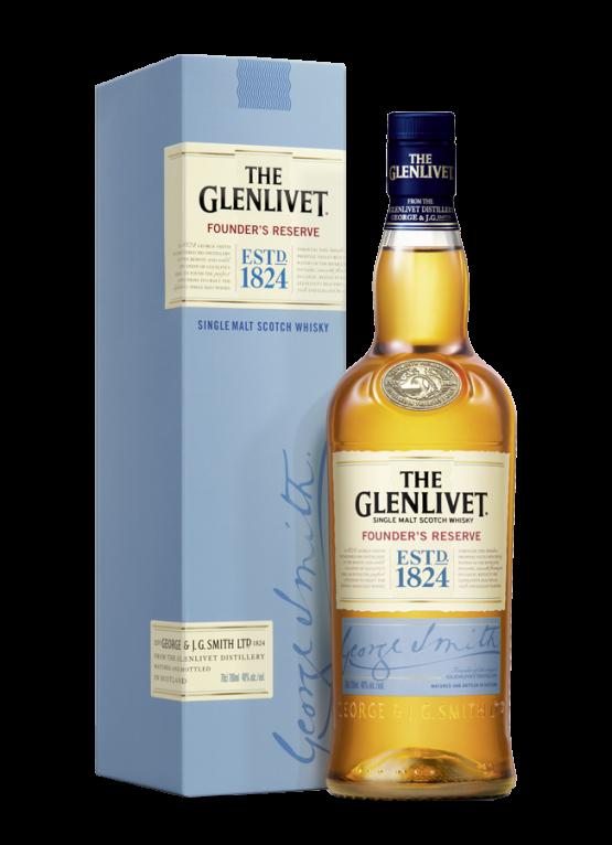 Glenlivet-bottle