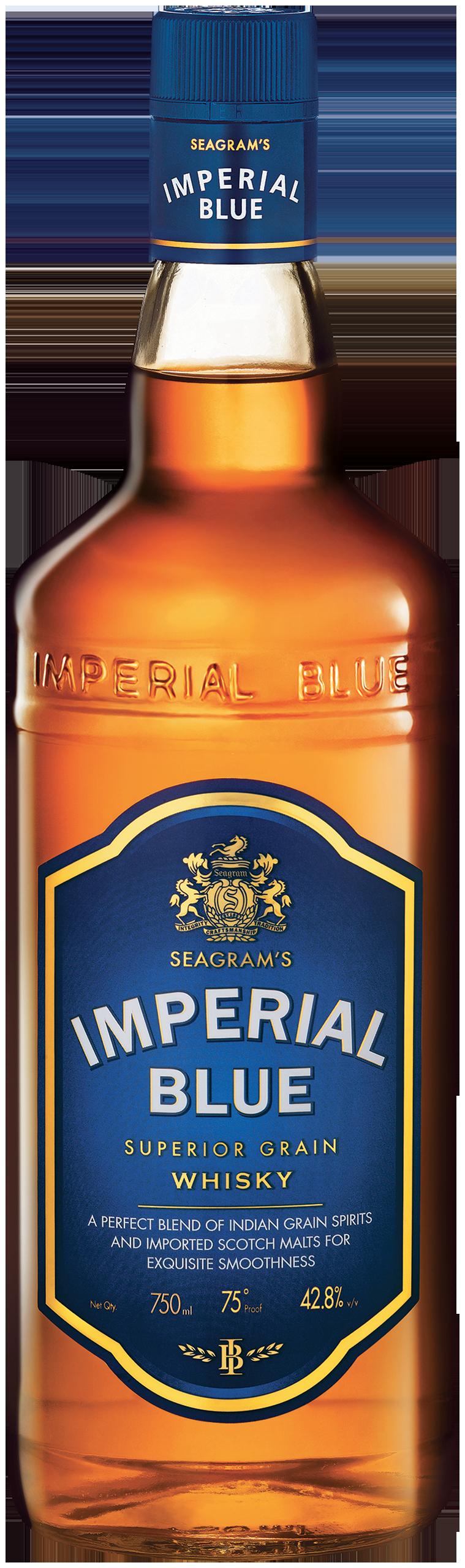 packshot imperial blue