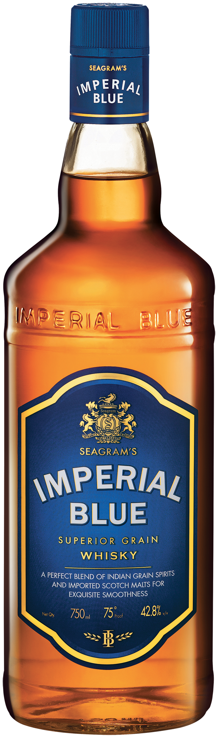 packshot imperial blue