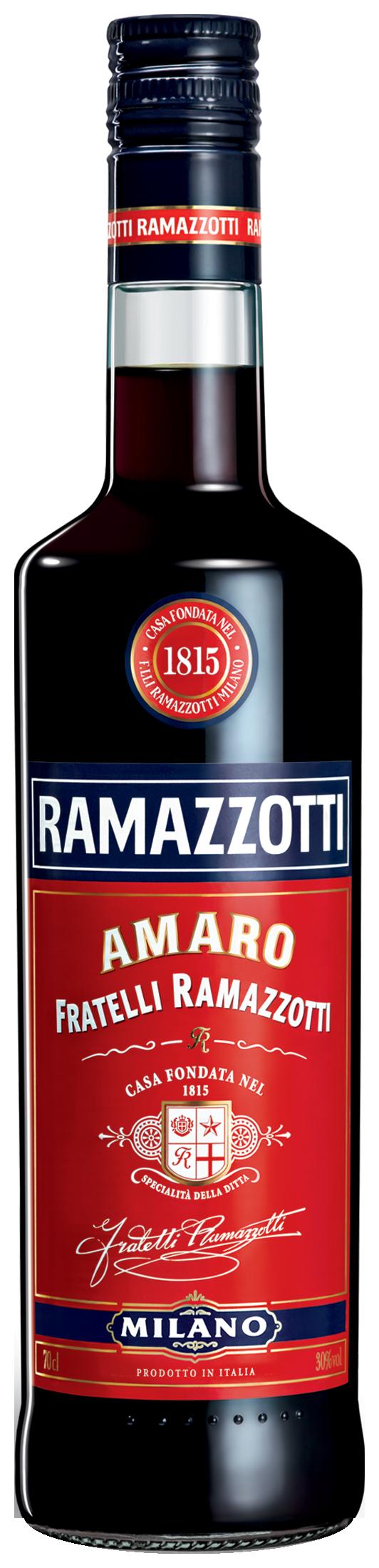 Packshot Amaro Ramazzotti