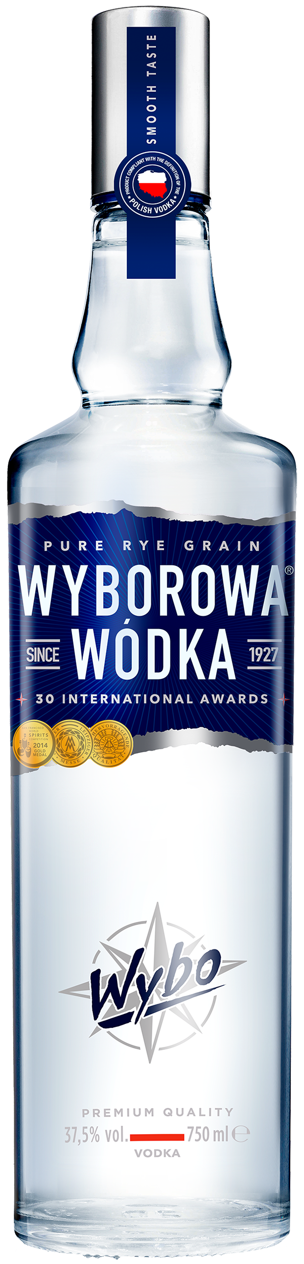 Packshot Wyborowa