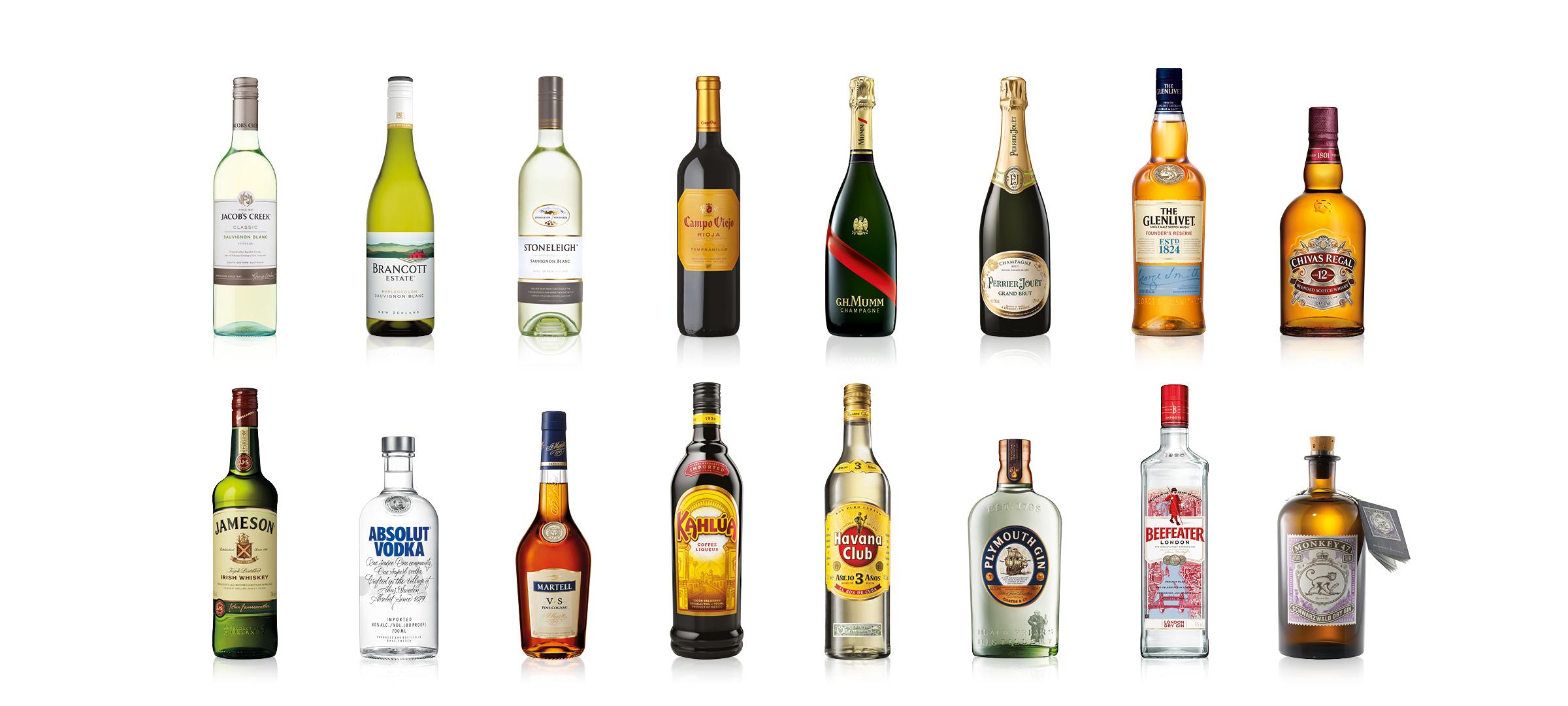 New Zealand Bottle Line Up