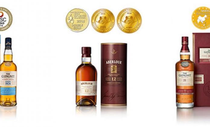 Uspeh viskija iz The Glenlivet i Aberlour portfolija