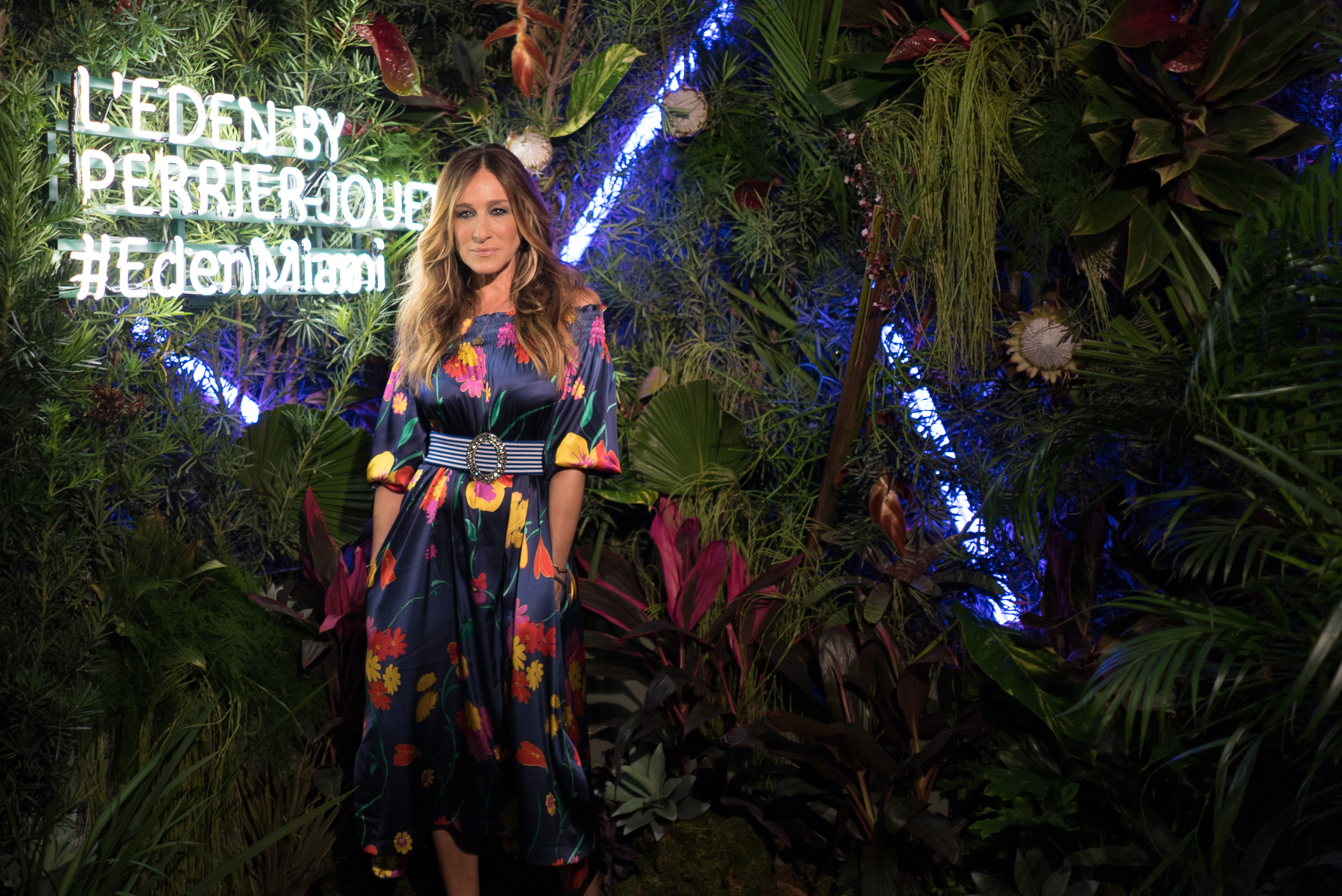 Sarah Jessica Parker at L'Eden By Perrier-Jouët