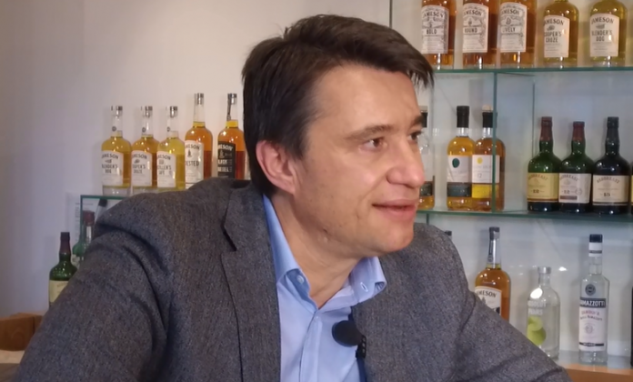 Julien S CFO Irisch Distillers Group