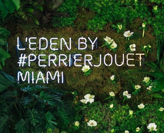L'Eden by Perrier-Jouët enchants Design Miami/ 2015