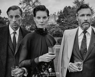 """""""Bohemian Aristocracy"""" la nouvelle campagne mondiale de Royal Salute"""
