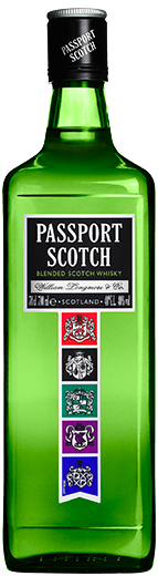 packshot passport scotch
