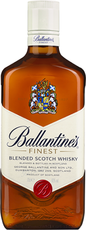 packshot ballantines