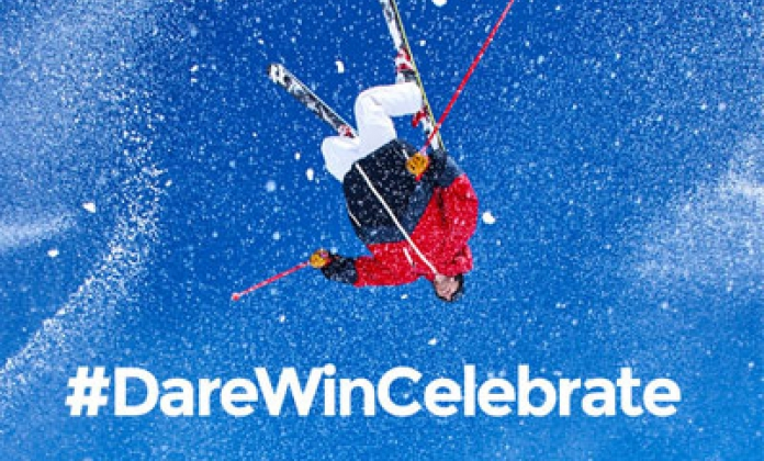 Maison Mumm invites the World to DARE WIN CELEBRATE, with the Launch of Snowstorm by Mumm platform in Association with International Freestyle Skiing Star Kevin Rolland.