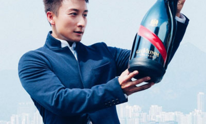 Maison Mumm Champagne unveiled new Mumm Grand Cordon Bottle to Asia