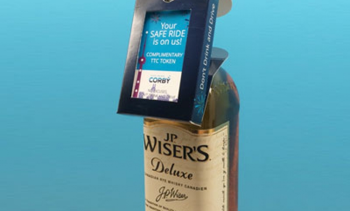 Corby _bilan du partenariat « don_t drink _ drive » avec la ttc lors du dernier réveillon a Toronto