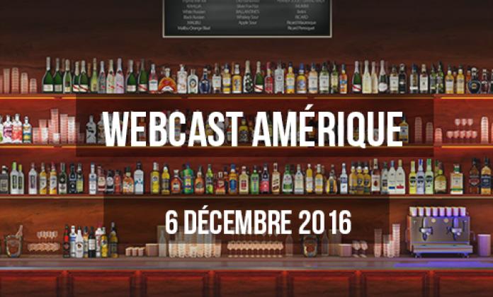 Webcast Amérique 2016