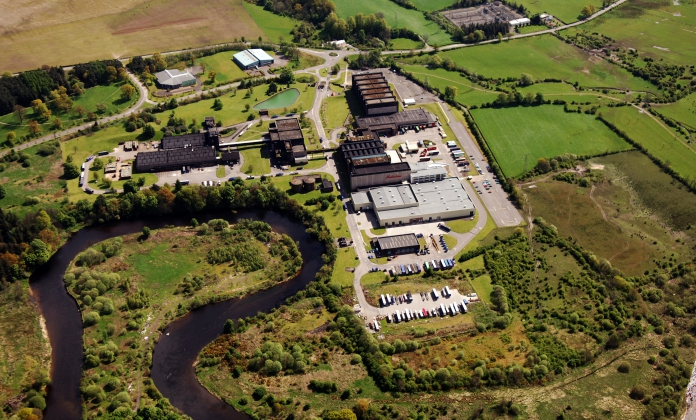 Chivas bottling facility in Kilmalid, Scotland 2009