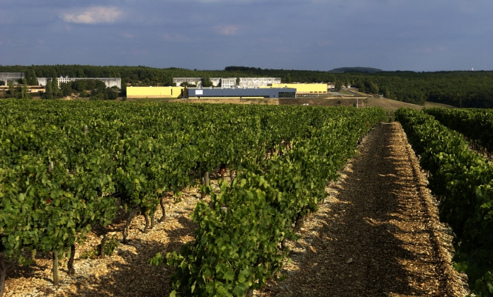 Martell bottling site at Lignères 2005