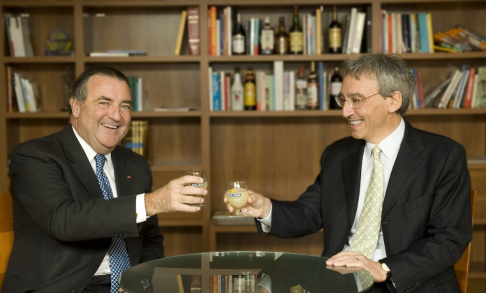Patrick Ricard and Pierre Pringuet 2008