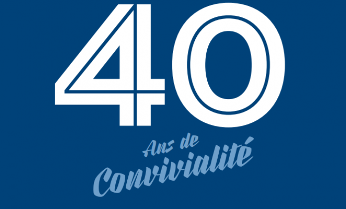 40 years of convivialité