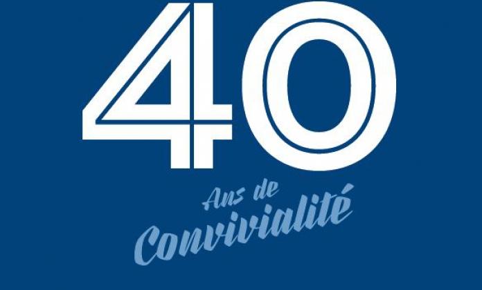 40 ans de convivialite