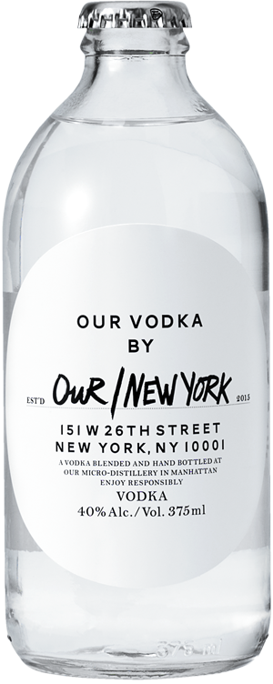 Bottle of Our/Vodka