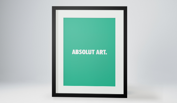 Absolut Art Frame