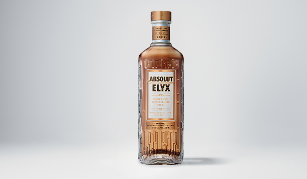 Bottle of Absolut Elyx