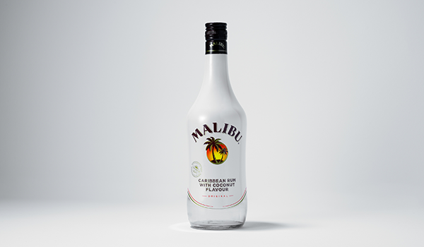 Bottle of Malibu