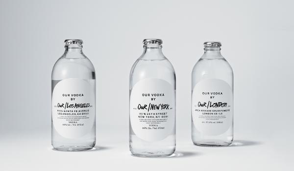Bottles of Our/Vodka