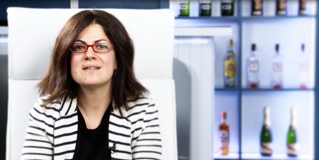 Virginia, Payroll Assistant, Pernod Ricard España (English / Spanish)