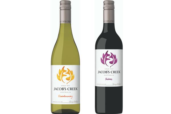 Jacob's Creek bottles