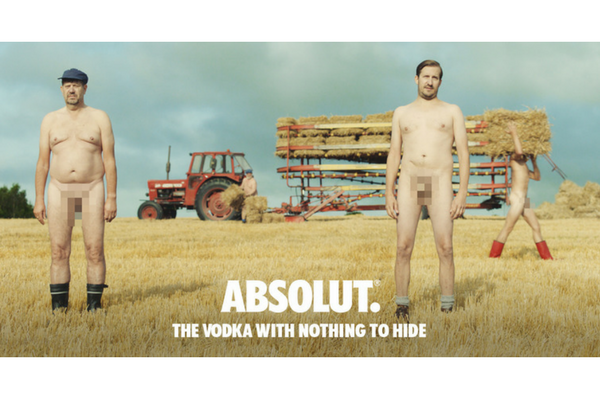 Absolut Nothing to Hide