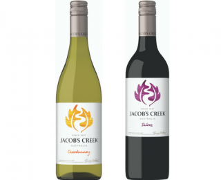 Jacob's Creek bottles